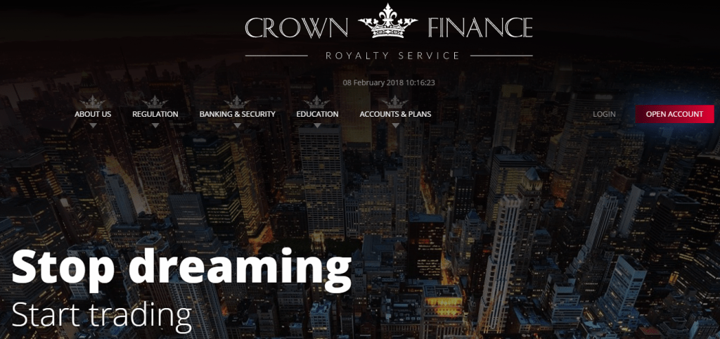 Crown Finance Estafa