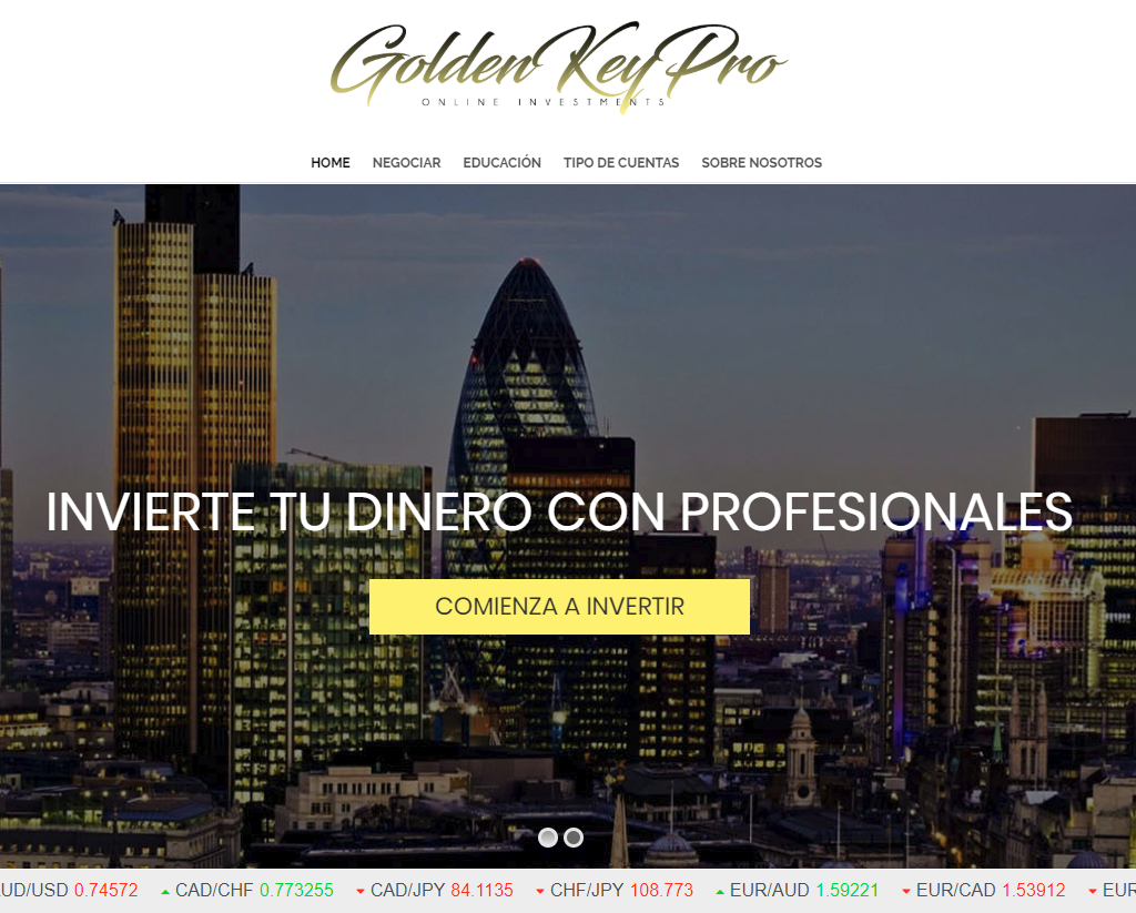 golden key pro estafa
