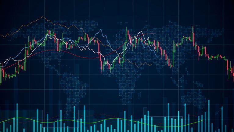 Los operadores sopesaron el último lote de datos económicos