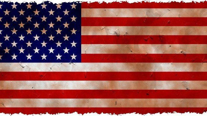 La bandera de América