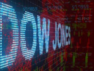 Dow Jones incrementa 150 puntos